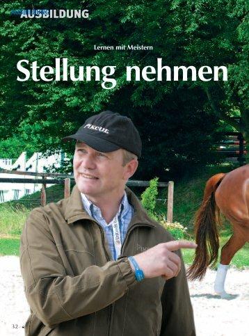 AUSBILDUNG - Reiter Revue International