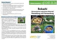 Warum Bokashi? - EM-Chiemgau