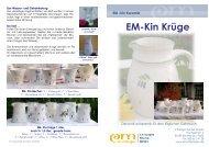 EM-Kin Krüge - EM-Chiemgau