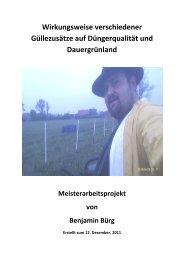 Meisterarbeitsprojekt von Benjamin Bürg - EM-Chiemgau