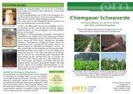 Chiemgauer Schwarzerde - EM-Chiemgau