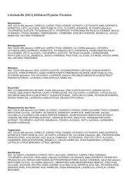 Inhaltsstoffe (INCI) EMSana Phytodor Produkte - EM-Chiemgau