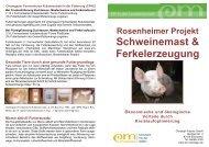 Schweinemast & Ferkelerzeugung - EM-Chiemgau
