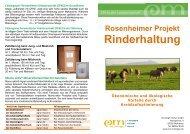 Rinderhaltung - EM-Chiemgau