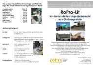 Mehr über die Anwendung von RoPro-Lit und ... - EM-Chiemgau