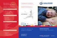 Flyer Therapeutisches Reiten - Lebenshilfe Nürnberger Land