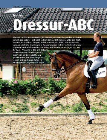 Dressur-ABC - Britta Schoeffmann