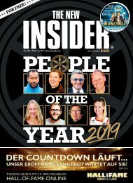 THE NEW INSIDER No. VIII, #437