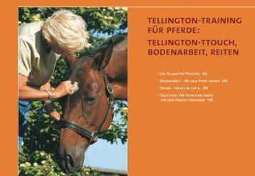 tellington-training für pferde: tellington-ttouch, bodenarbeit, reiten