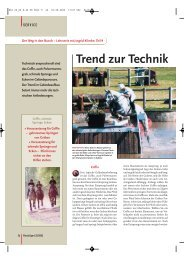 Trend zur Technik - Ingrid Klimke