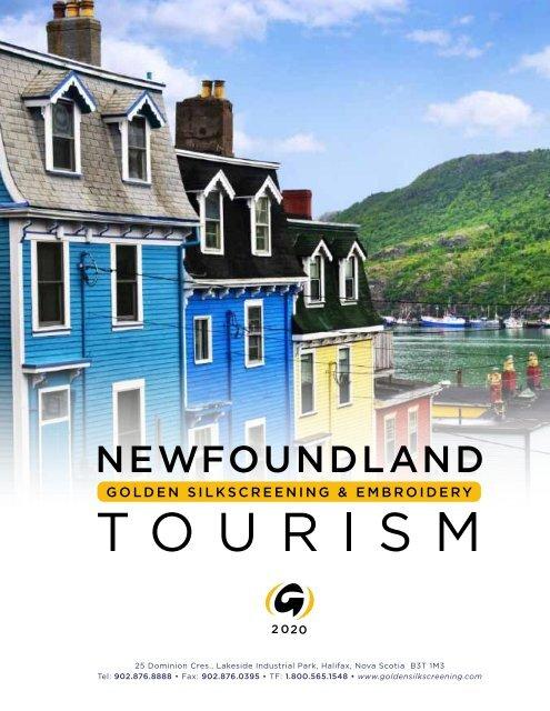 Newfoundland Tourism Online 2020 hq