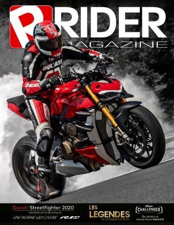 Rider Magazine   Vol 1.   Decembre 2019