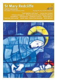 St Mary REdcliffe Parish Magazine Dec 2019 Jan 2020