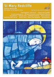St Mary REdcliffe Parish Magazine Dec 2019 Jan 2020