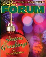 Retailers Forum Magazine - Dec. 2019 E Mag