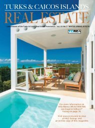 Turks & Caicos Islands Real Estate Winter/Spring 2019/20