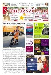 2019-12-01 Bayreuther Sonntagszeitung