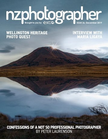 NZPhotographer Issue 26, December 2019