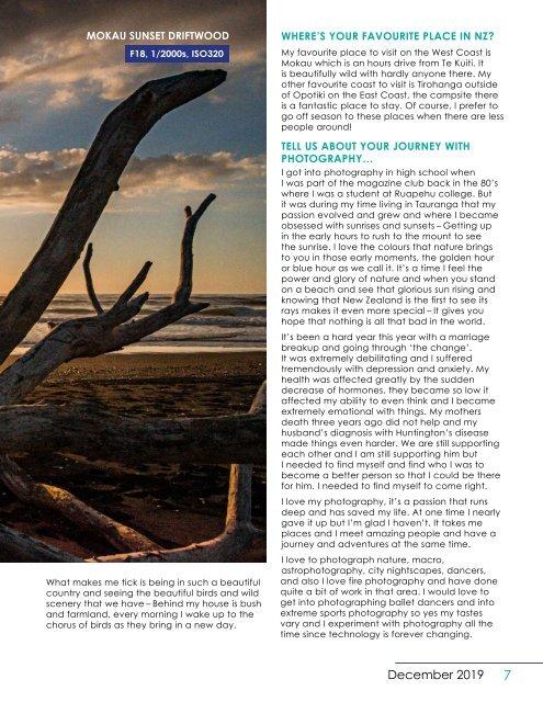 NZPhotographer Issue 26, December 2019