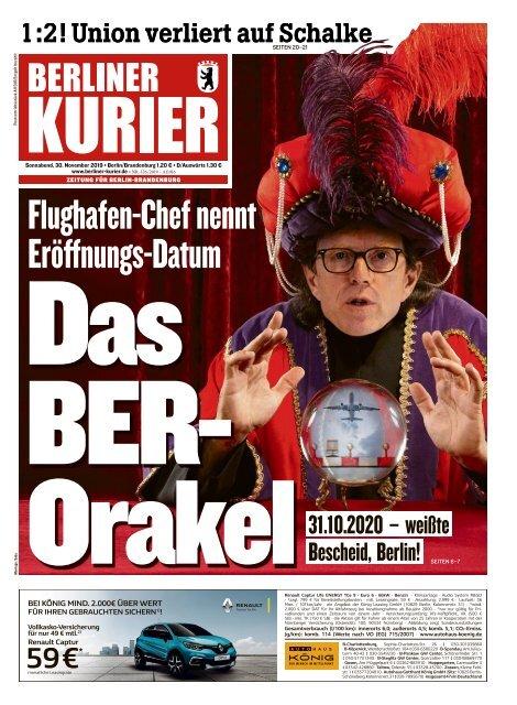 Berliner Kurier 30.11.2019