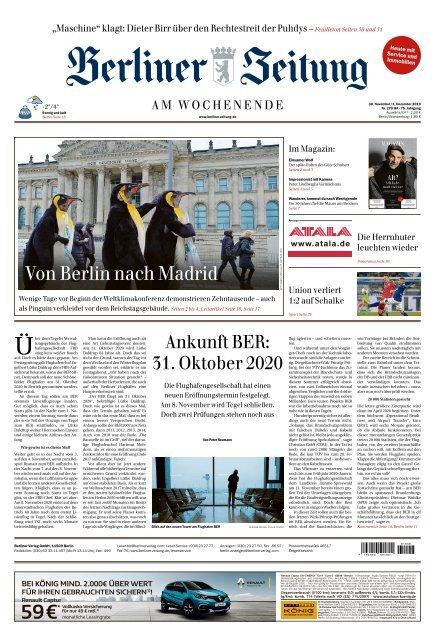 Berliner Zeitung 30.11.2019