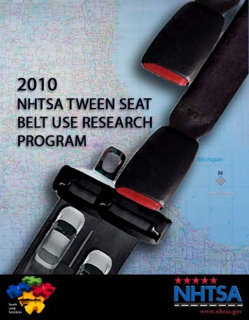 Tween Seat Belt Usage - UIC-NHTSACampaign - home
