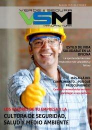 Edición 2. Noviembre 2019. Revista Verde & Segura Manufactura.