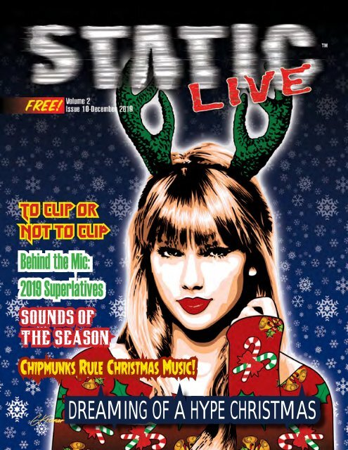 Static Live Magazine December 2019 Issue