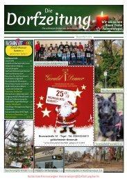 Die Dorfzeitung Reinickendorf Dezember 2019