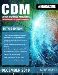 Cyber Defense eMagazine December 2019