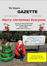 DEC  JAN Girgarre Gazette