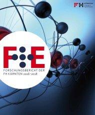 Forschungsbericht der FH Kärnten 2016-18