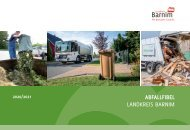 Abfallfibel für den Landkreis Barnim 2020/2021