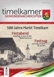 Wir gratulieren - Marktgemeinde Timelkam