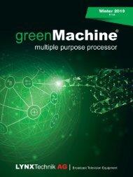 greenMachine Catalog 4/19