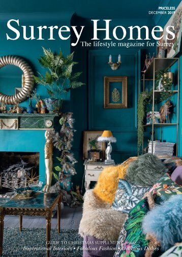 Surrey Homes | SH62 | December 2019 | Guide to Christmas supplement inside