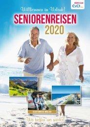 Seniorenreisen Sommerkatalog 2020