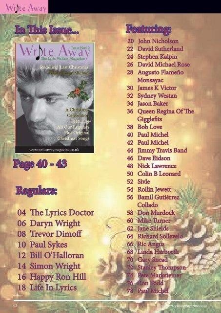 Write Away Magazine Dec 2019