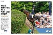 Nisse Lüneburg und Calle Cool siegen - Pferd+Sport