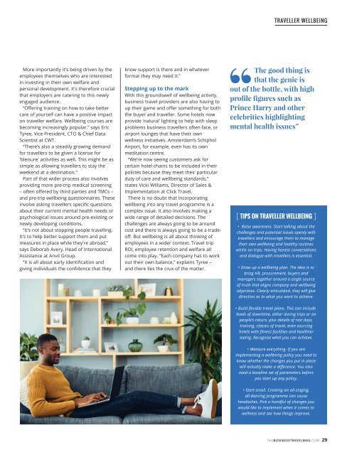 The Business Travel Magazine Dec/Jan 2019/20