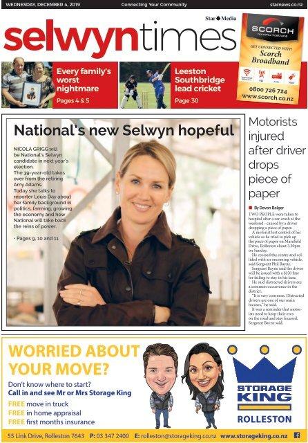 Selwyn Times: December 04, 2019
