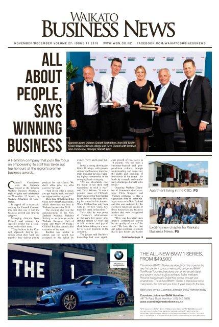 Waikato Business News November/December 2019