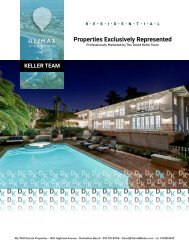 Team Keller Properties Exclusively Represented and Marketed by David Keller and Mia Ellison