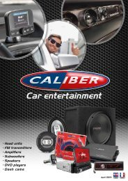 Caliber Car Entertainment