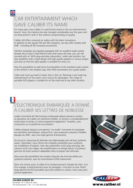 Caliber Car Entertainment