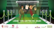 Calendrier des collectes des déchets 2020 du jeudi - Ville de Liège - Intradel