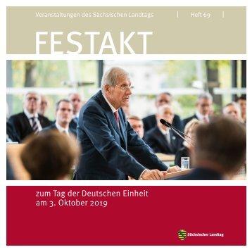Festakt zum Tag der Deutschen Einheit