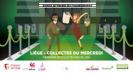 Calendrier des collectes des déchets 2020 du mercredi - Ville de Liège - Intradel