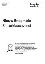 2019 12 05 Nieuw Ensemble