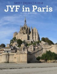 Sweet Briar College JYF in Paris